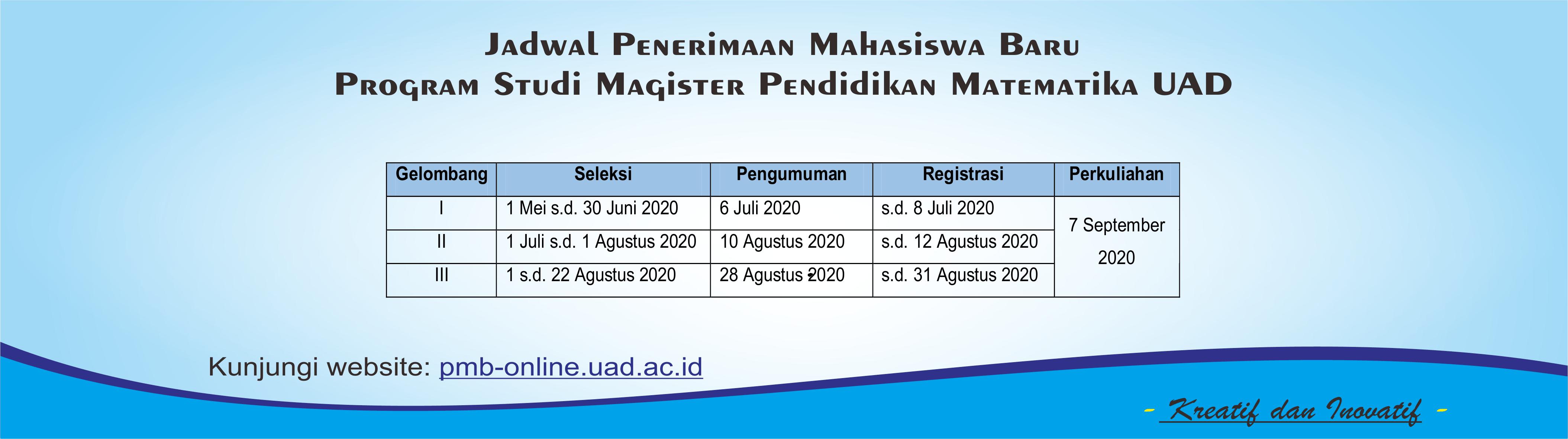 PMB Gasal 2020